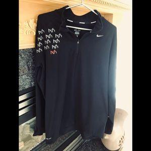 Nike Men's Running Dri-Fit Long Sleeve Tee, Large
